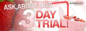 three day trial